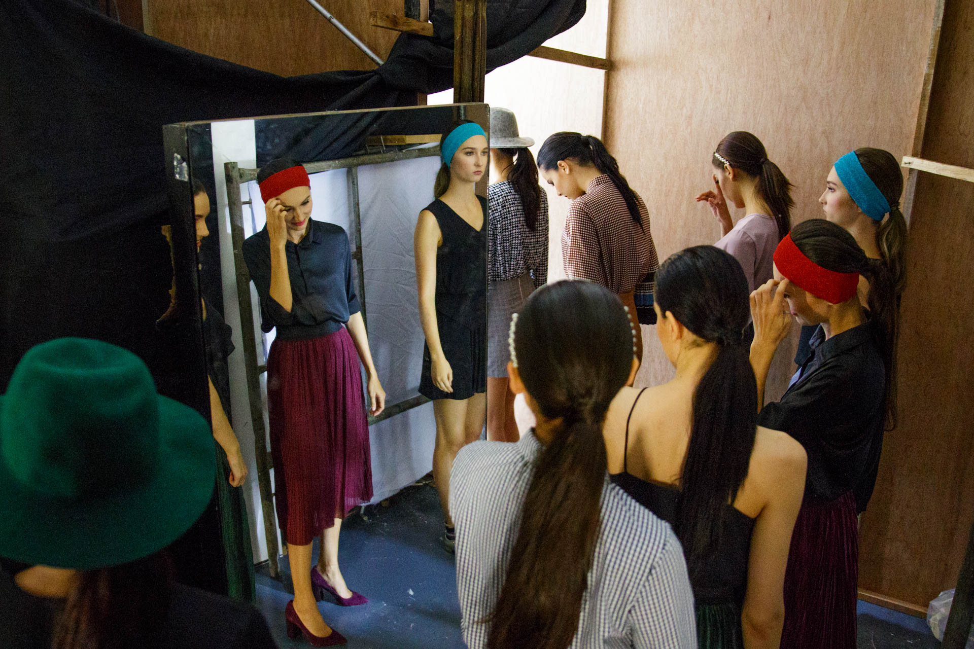 Bench Fashion Week Backstage